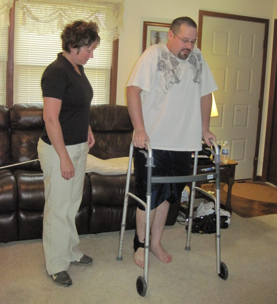 in-home physical therapy